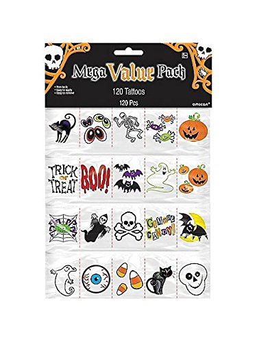 Halloween Tattoo Favors