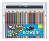 PRISMACOLOR Scholar Pencil, Art Pencils, Box of 60, Assorted Colours (92808HT)