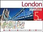 London PopOut Map - handy, pocket-siz...