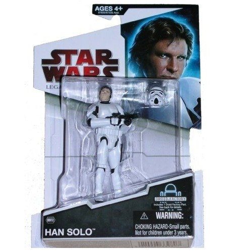 Buy Low Price Hasbro Han Solo Stormtrooper Disguise BD#02 Star Wars Legacy Collection Action Figure (B002NY3FK8)