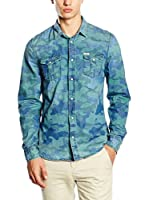 Guess Camisa Vaquera (Azul)