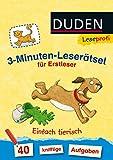 Leseprofi - 3-Minuten-Leserätsel für Erstleser: Einfach tierisch: 40 knifflige Aufgaben