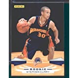 2009  10 Panini NBA Basketball Card # 307 Stephen Curry Golden State Warriors Mint... by