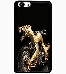 ColourCraft Amazing Bike Design Back Case Cover for HUAWEI HONOR 6 PLUS