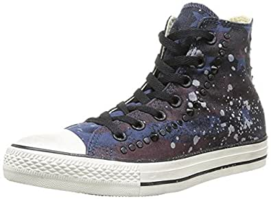Converse Chuck Taylor Studded Hi Shoes - Navy