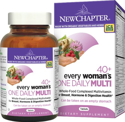 New Chapter 40+ Every Woman'S One Daily Multi -- 86 Tablets