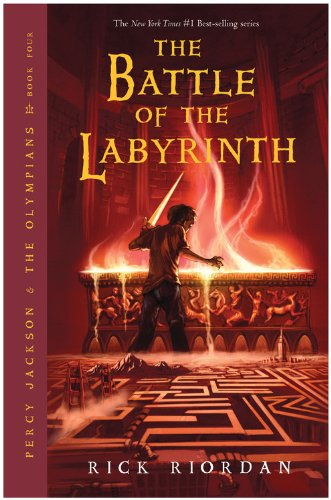 Cover of The Battle of the Labyrinth (Percy Jackson and the Olympians, Book 4)