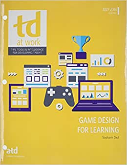 Game Design For Learning (TD At Work)