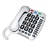 Geemarc AMPLIPOWER 50 Extra Loud Big Button Corded Telephone- UK Versionby Geemarc