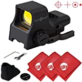 Sightmark Ultra Shot Pro Spec Sight NV QD Red Dot Rifle Sight w/ Microfibers (SM14002)