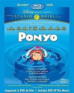 Ponyo (version française) [Blu-ray + DVD] (Bilingual)