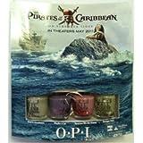 OPI Pirates of the Carribean Mini Nail Lacquer Set, 1 Set