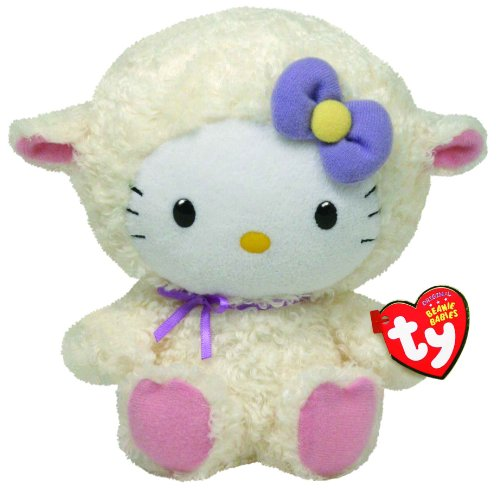 Ty Beanie Babies Hello Kitty Lamb Suit - 1