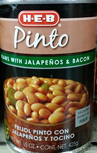 Trappey's Pinto Beans With Bacon, 15.5000-Ounce (Pack of 6 ...