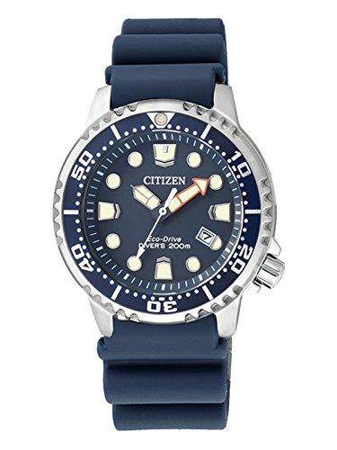 Citizen-Damen-Armbanduhr-XS-Promaster-Marine-Analog-Quarz-Plastik-EP6051-14L