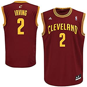 Kyrie Irving Cleveland Cavaliers Red NBA Toddler Revolution 30 Replica Jersey