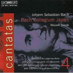 Nur jedem das Seine, BWV 163: Duet Aria : Nimm mich mir und gib mich dir! (Soprano, Alto)