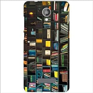 Micromax Canvas Spark Q380 Back Cover Designer Hard Case Printed Cover