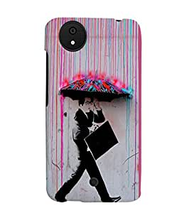 Fuson 3D Printed Boy Designer back case cover for Micromax Android A1 - D4557