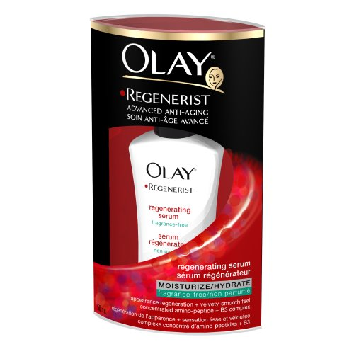 Olay Regenerist Daily Regenerating Serum, Fragrance Free, 1.7-Fluid Ounces