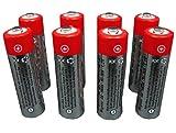 8x pilas recargables AA de 1,2V 800mAh NiMh para RC telecontrol de coches de gasolina !! Envío gratuito