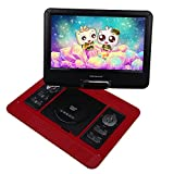 DBPOWER 13.3-Inch Portable DVD Player, 270 degree Swivel LCD Screen, USB, Support Analog Signal TV, SD Card, SWIVEL & Flip,VAG,CD,VCD,MP3,MP4,With Game CD+ Game Controller