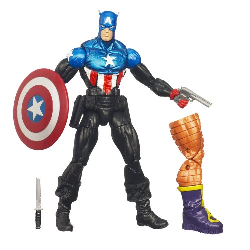 Marvel Universe Captain America Figure 6 Inches (Marvel Legends Nemesis Series compare prices)