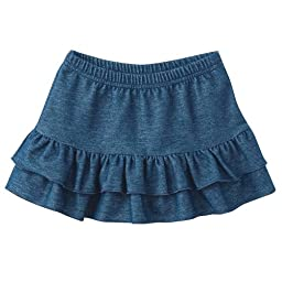 Baby Boutique Girl\'s Tiered Denim Skirt, Sizes: 12-24 mths (24 mths)
