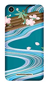 TrilMil Printed Designer Mobile Case Back Cover For Micromax Canvas Spark 2 Plus Q350