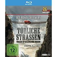 Ice Road Truckers: Tödliche Strassen - Trucker in gefährlicher Mission Staffel 1 [Blu-ray]