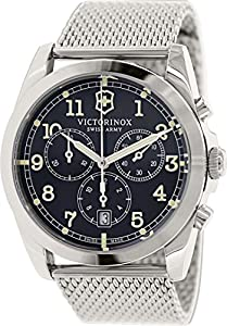 Victorinox Swiss Army Men's 241589 Silver-Tone Stainless Steel Watch