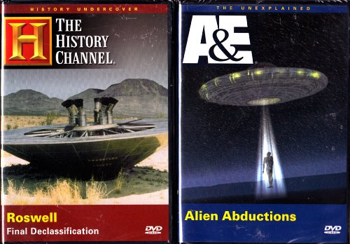 Alien Abductions , Roswell Final Declassification : A&E History Channel Alien 2 Pack Collection