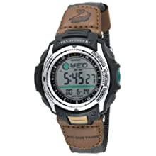 Casio Men's PAS400B-5V Pathfinder Forester Fishing Moon Phase Watch
