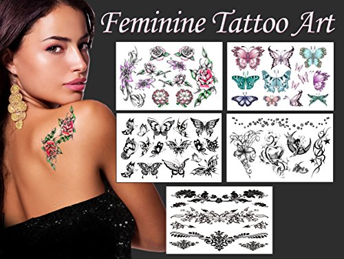Feminine Tattoo Art