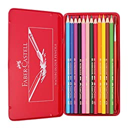 Faber-castell Classic Color Pencils in Tin, 12 Colors Count