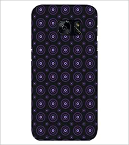 PrintDhaba Pattern D-5117 Back Case Cover for SAMSUNG GALAXY S7 (Multi-Coloured)
