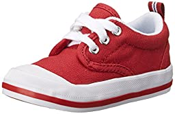 Keds Graham Classic Lace-Up Sneaker (Toddler),Red,6 W US Toddler