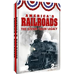 America's Railroads: Steam Train Legacy Embossed Slim-Tin Packaging