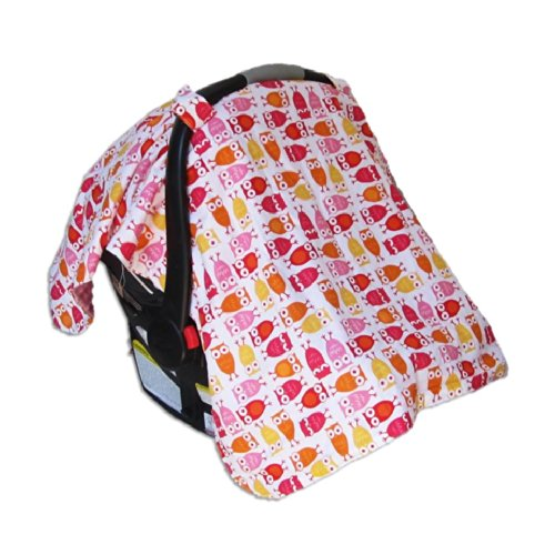 Car Seat & Stroller Canopy/Cover Cute Owls front-517307