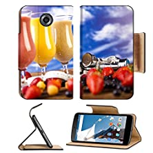 buy Msd Premium Motorola Google Nexus 6 Flip Pu Leather Wallet Case Image Id 35141559 Cocktails With Fresh Fruits Vitamin And Fitness