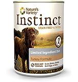 Nature's Variety Instinct Limited Ingredient Diet Grain-Free Turkey Formula Canned Dog Food, 13.2 oz. (Case of 12)