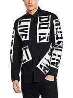 Love Moschino Camisa Hombre (Negro)