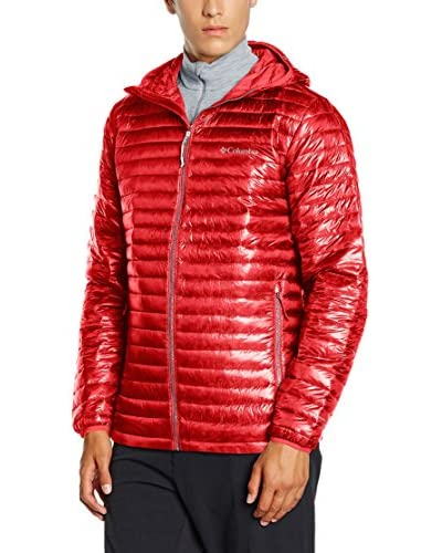 Columbia Chaqueta Guateada Platinum Plus 740 TurboDown Hooded Azul