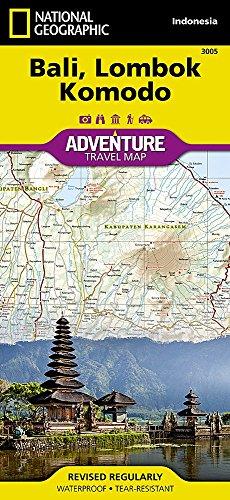 Bali, Lombok, Komodo : 1/155 000 (Adventure map)