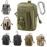 Unigear Compact Multipurpose Tactical Molle EDC Utility Gadget Pouch Tools Waist Bag with Holster Holder, 1000D(Olivergreen) (Color: Olivergreen)