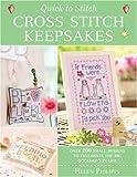 Quick To Stitch Cross Stitch Keepsakes