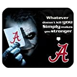 NCAA Alabama Crimson Tide With Joker Poker High Quality Printing Rectangle Mouse Pad at Amazon.com