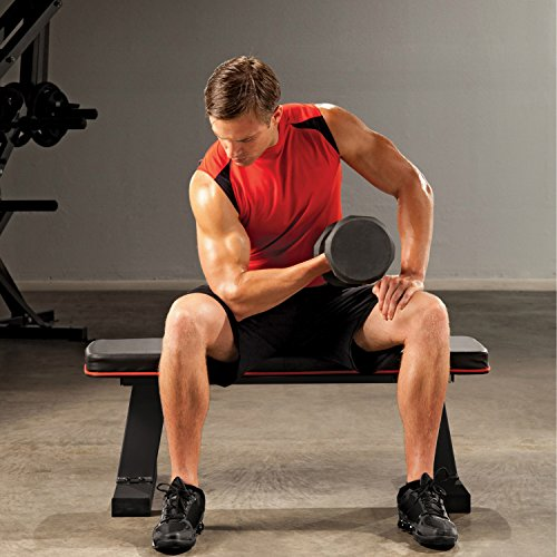 Marcy-Deluxe-Flat-Bench