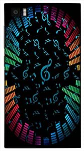 Wonderful 3D multicolor printed protective REBEL mobile back cover for Xiaomi Mi3 - D.No-DEZ-1906-xm3