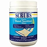 Antimicrobial Scrubs On Hand Wipes 6/120Ct by Itw Dymon Inc